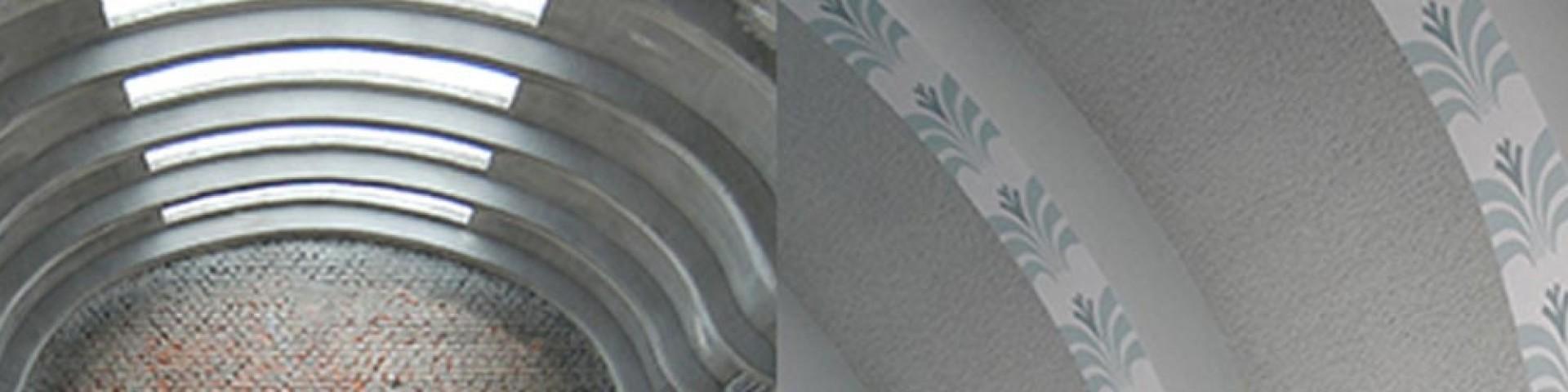 Reinforcement with textile reinforced concrete